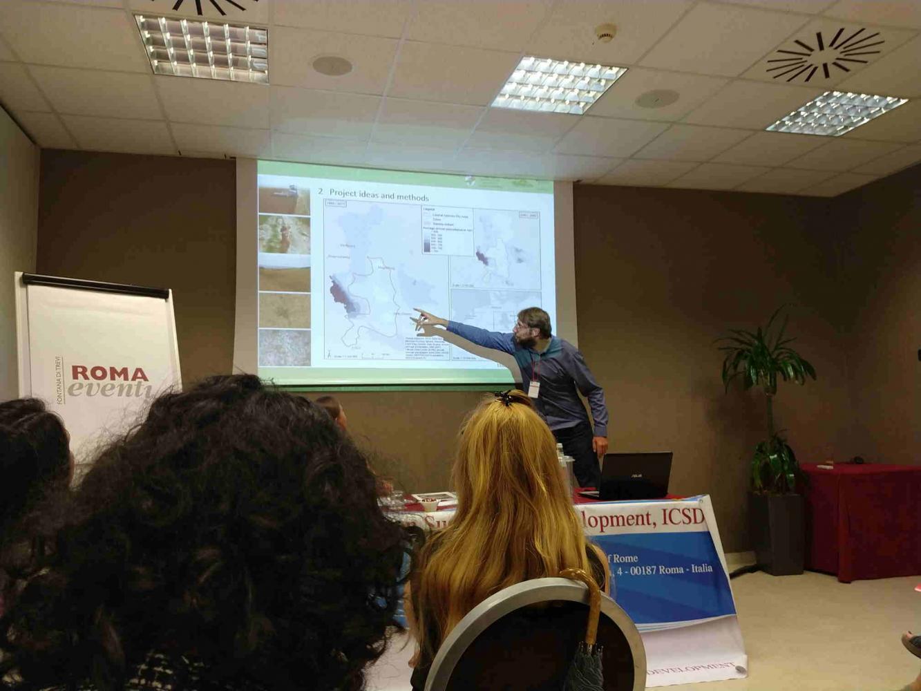 Präsentation auf der ICSD 2019