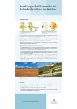 Auswirkungen des Klimawandels auf die Landwirtschaft und den Weinbau (ReKIS)